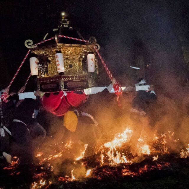 南保の火祭り