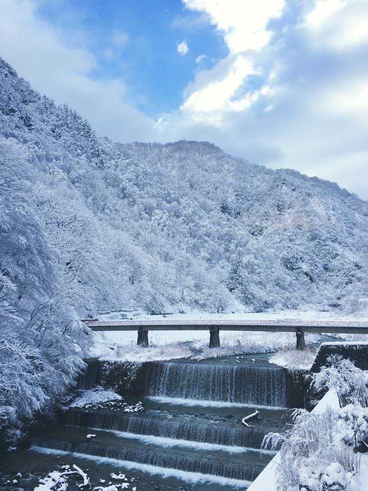冬の小川温泉