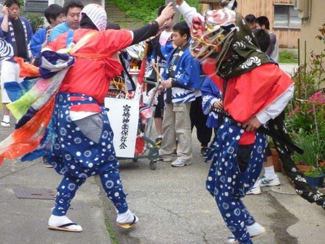 鹿嶋神社神楽