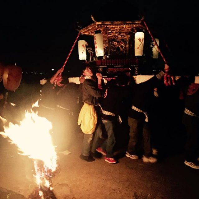 なんぼの火祭り